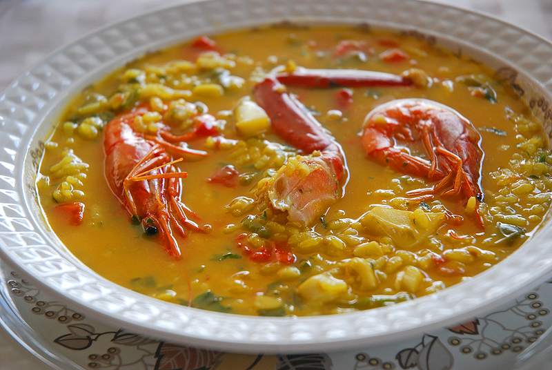 arroz a la marinera (Ibiza), Foto: Xescu Prats